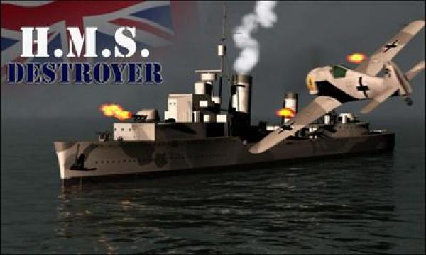 HMS Destroyer - шутер для слабых андроид