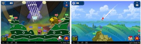 Worms 2: Armagedon Android